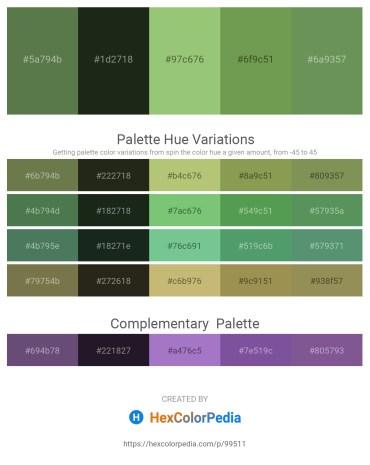 Palette image download - Dark Olive Green – Dark Slate Gray – Dark Khaki – Dark Olive Green – Dark Olive Green