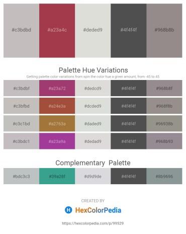 Palette image download - Silver – Sienna – Gainsboro – Dim Gray – Gray