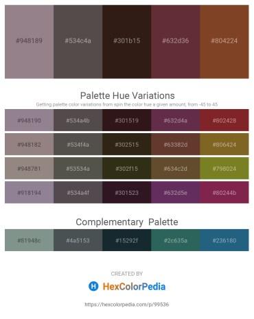 Palette image download - Gray – Dim Gray – Medium Aquamarine – Steel Blue – Sienna