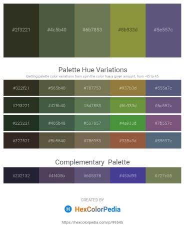 Palette image download - Dark Slate Gray – Dark Olive Green – Dark Olive Green – Dark Olive Green – Dark Olive Green