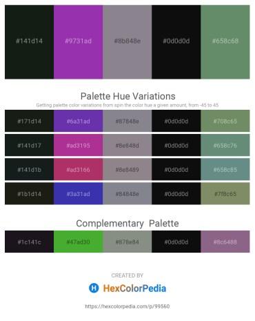 Palette image download - Dark Slate Gray – Dark Orchid – Slate Gray – Black – Cadet Blue