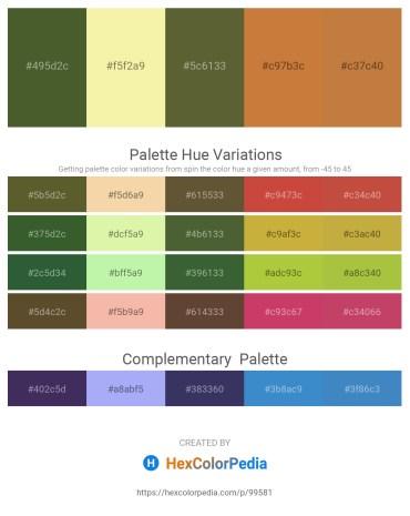 Palette image download - Dark Olive Green – Wheat – Dark Olive Green – Peru – Peru