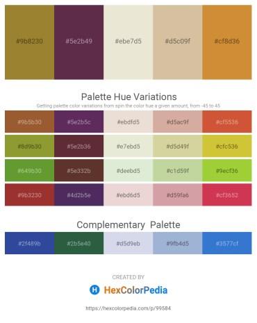 Palette image download - Rosy Brown – Tan – Beige – Tan – Peru