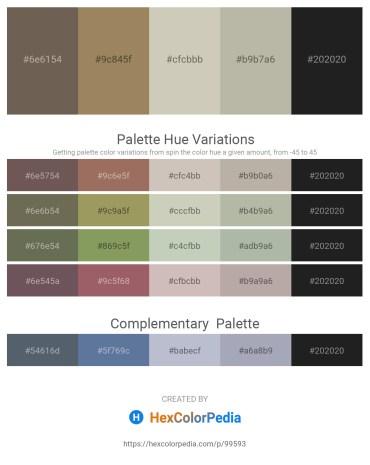 Palette image download - Dim Gray – Dark Khaki – Silver – Dark Gray – Black