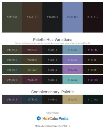 Palette image download - Dark Olive Green – Burlywood – Dark Slate Gray – Light Slate Gray – Black