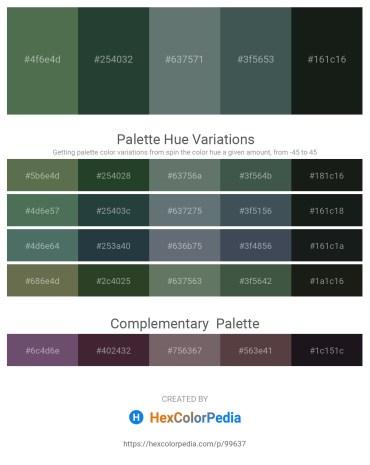Palette image download - Dark Olive Green – Dark Slate Gray – Slate Gray – Dark Slate Gray – Dark Slate Gray