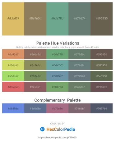 Palette image download - Burlywood – Gray – Cadet Blue – Slate Gray – Dim Gray