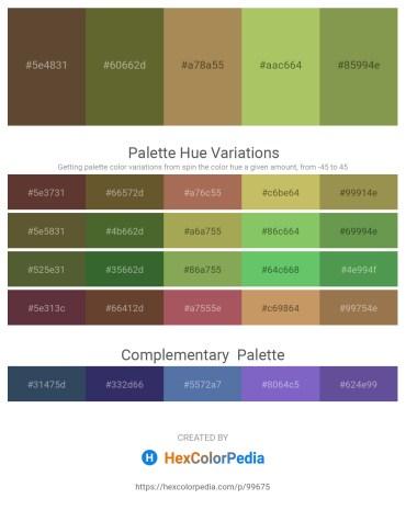Palette image download - Dim Gray – Dark Olive Green – Dark Khaki – Dark Khaki – Dark Khaki