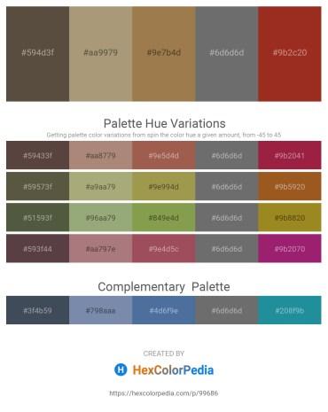 Palette image download - Dim Gray – Light Steel Blue – Dim Gray – Dim Gray – Brown