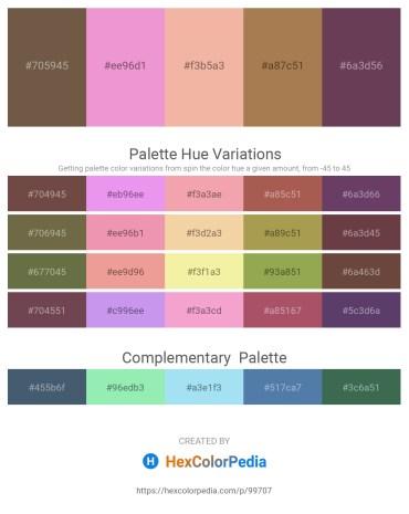 Palette image download - Dark Olive Green – Violet – Wheat – Silver – Gray