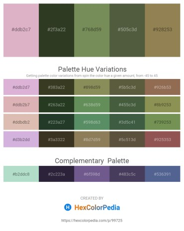 Palette image download - Plum – Dark Olive Green – Dark Olive Green – Dark Olive Green – Dark Khaki
