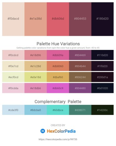 Palette image download - Beige – Burlywood – Indian Red – Dim Gray – Midnight Blue