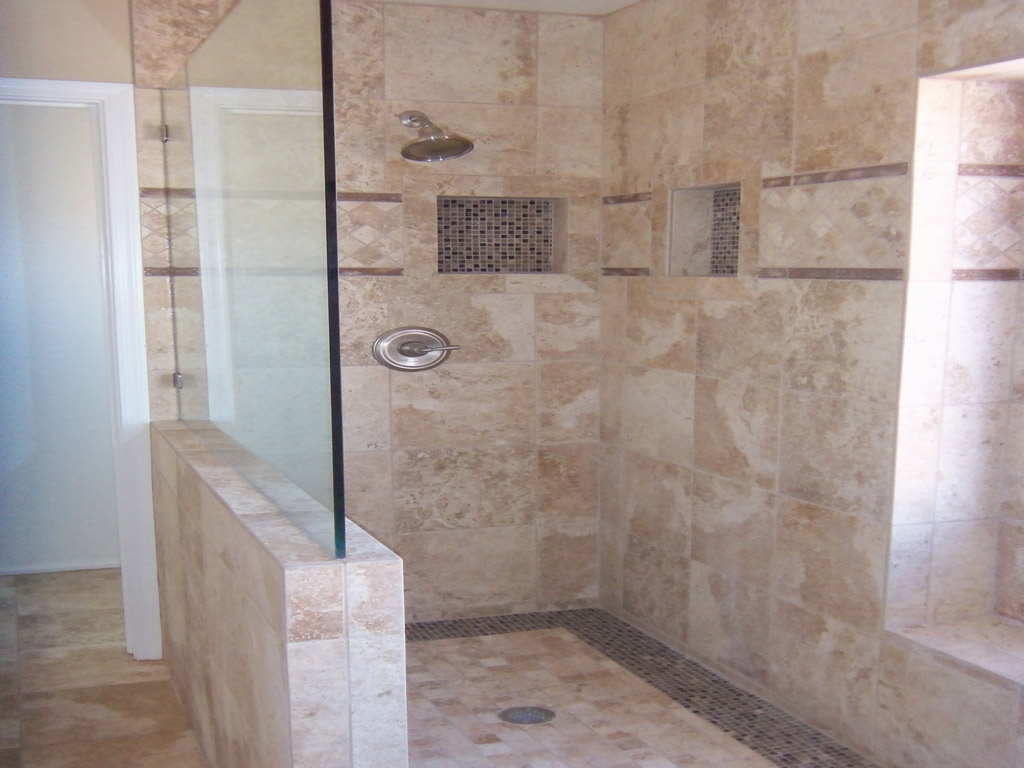 Modern bathroom tile ideas photos. porcelain for shower for shower ...