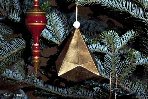 Folded Paper German Bell By All Things Paper Project