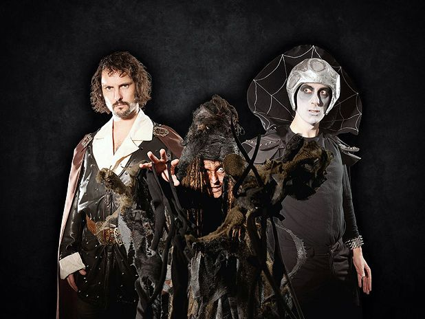 Treguard, Lord Fear, and a random crone