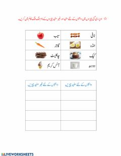 Urdu Worksheets And Online Exercises
