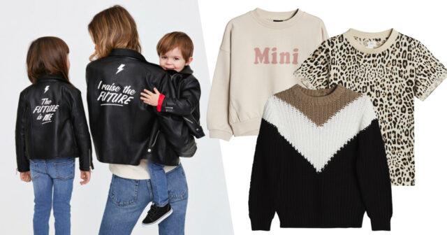 Mamma-barn-kläder på Gina Tricot