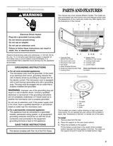 whirlpool mh1150xms user guide page 1