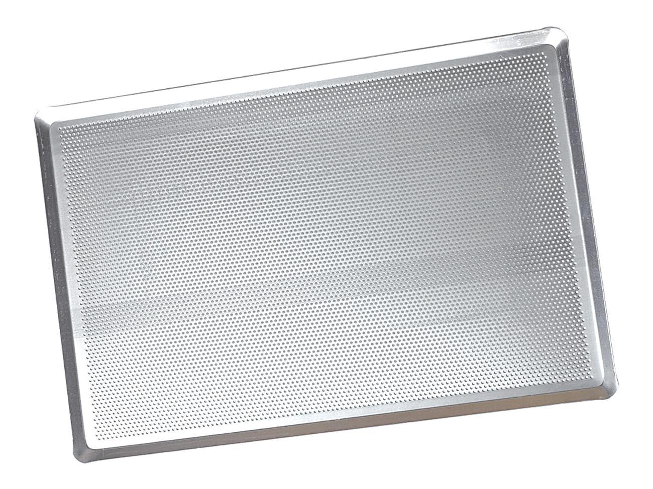plaque a patisserie perforee aluminium 40 x 30 cm meilleur du chef