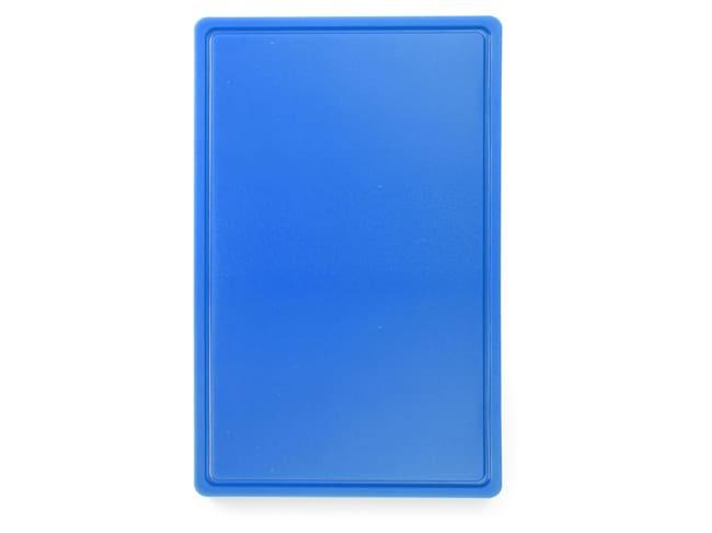 planche a decouper hdpe 500 53 x 32 5 cm bleue hendi