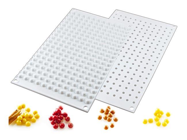 moule silicone 228 mini perles 30 x 17 5 cm silikomart
