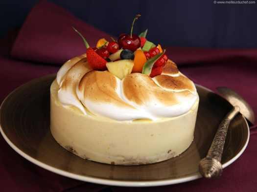 Tutti Frutti Meringue Cake - Our recipe with photos - Meilleur du Chef