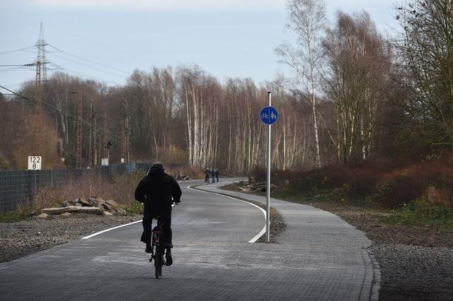 Dans la Ruhr (ouest), cinq kilomètres de piste ont été inaugurés fin novembre.
