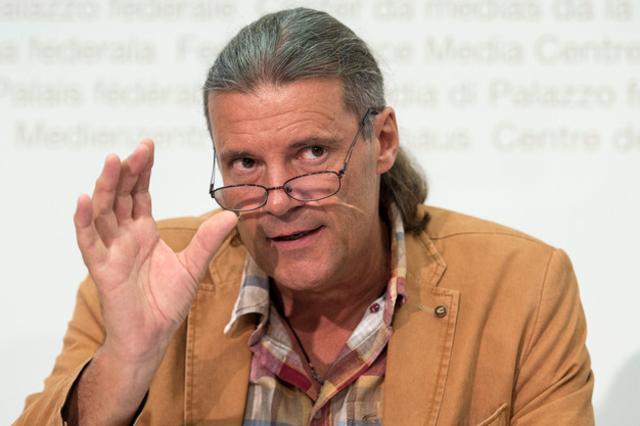 Le conseiller d'Etat valaisan UDC Oskar Freysinger, membre du comité d'initiative contre le port du voile intégral.