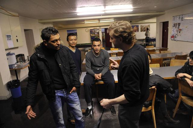 Asylunterkunft Hochfeld in der Stadt Bern: Laut Kanton musste die Unterkunft wegen der Zunahme der Asyl- gesuche rasch eröffnet werden, weshalb der Betreuungsauftrag ohne Ausschreibung vergeben wurde.