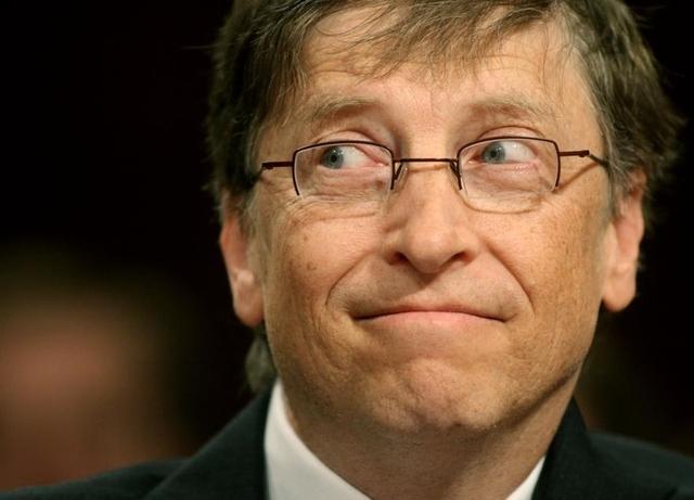 .Le fondateur de Microsoft Bill Gates.