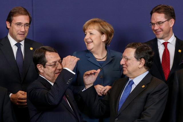 Bleiben gerne unter sich: Die Regierungschefs der EU-Staaten mögen es nicht, wenn sich das Volk zu Wort meldet.