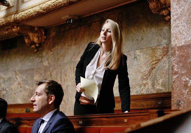 «Denkt auch an die Jugend»: Marion Maréchal-Le Pen, hier Ende Mai in der französischen Nationalversammlung. Foto: Keystone