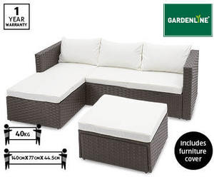 gardenline rattan corner sofa cover. Black Bedroom Furniture Sets. Home Design Ideas