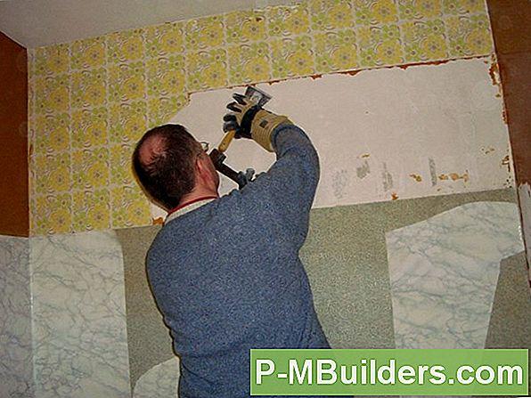 comment preparer un mur pour la peinture apres avoir enleve le papier peint