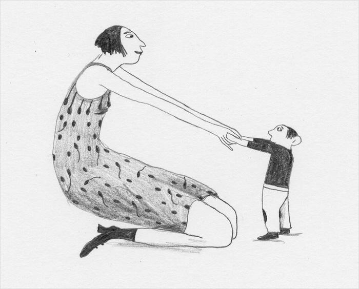 Illustration by Albertine from 'Bimbi' – published by Éditions La Joie de lire, Switzerland