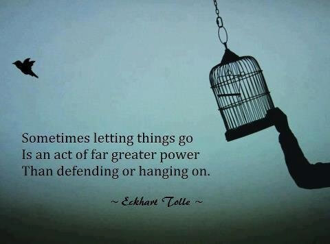 letting the past go - Letting Go Quotes