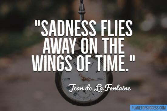 Sadness flies quote