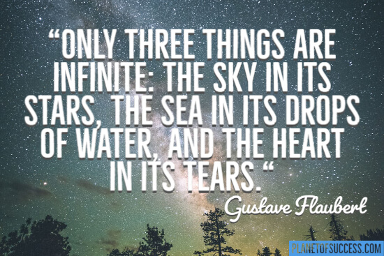 Three things are infinite quote