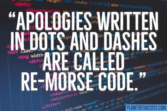 Re-morse code