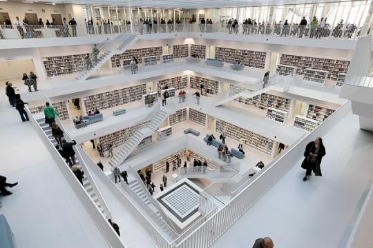 أشهر 10مكتبات في العالم