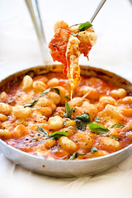 Gnocchi With Pomodoro Sauce foodiecrush.com 017