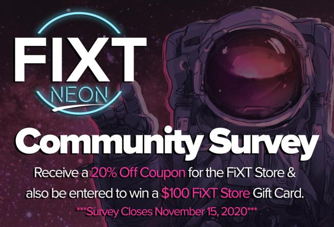 FiXT Neon Community Survey 1