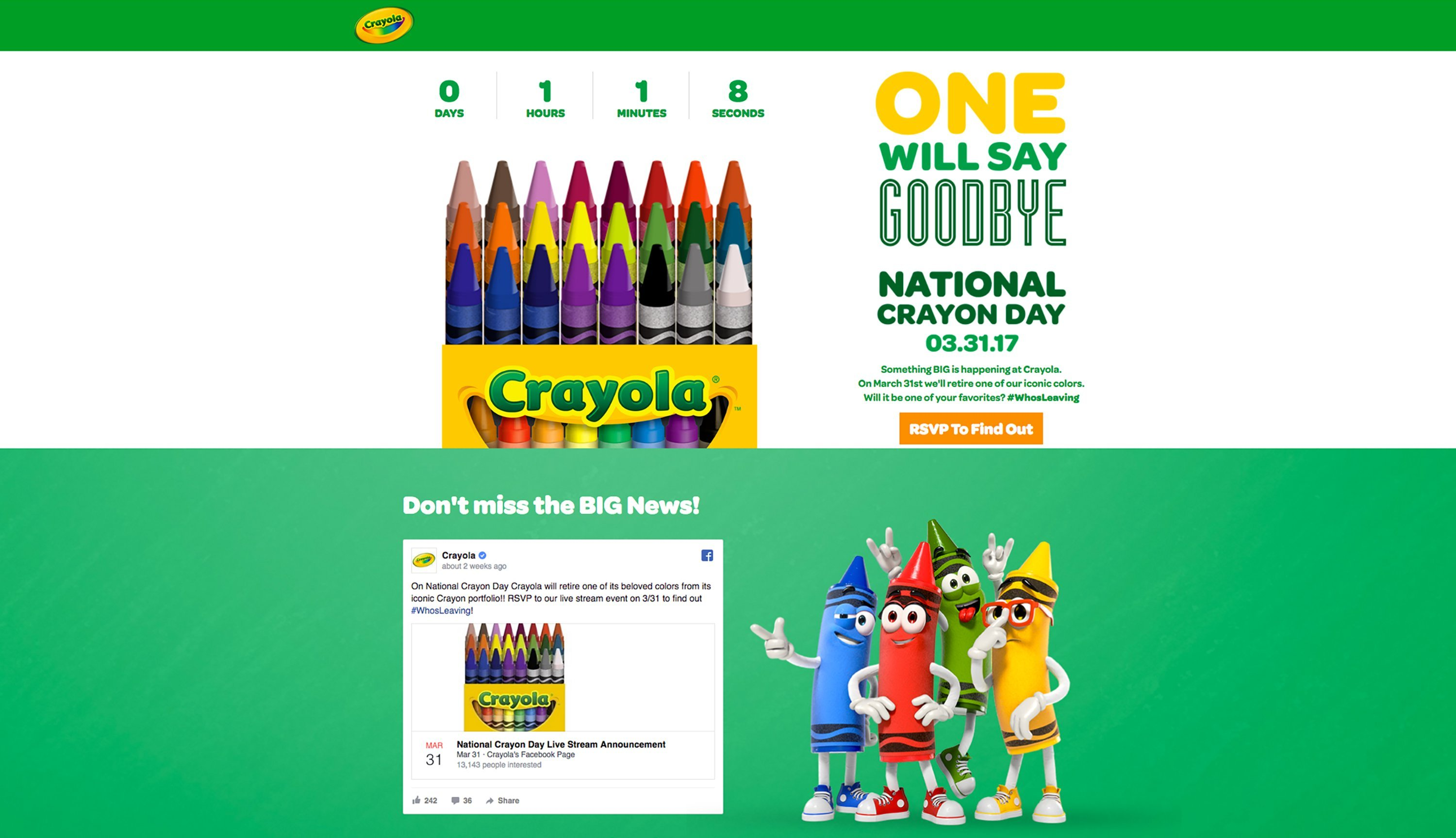 Poll: Do you approve or disapprove of Crayola\'s new blue-colored ...