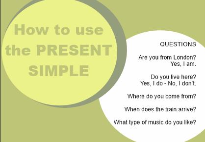 present simple8