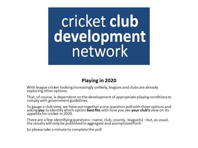 2020 Cricket