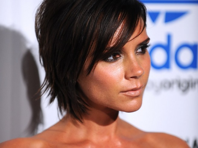 Victoria Beckham closeup wallpaper