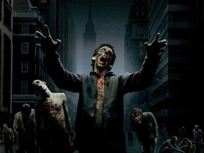 City Zombies Wallpaper  yvt2