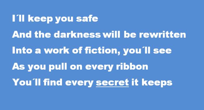 I´ll keep you safe 5