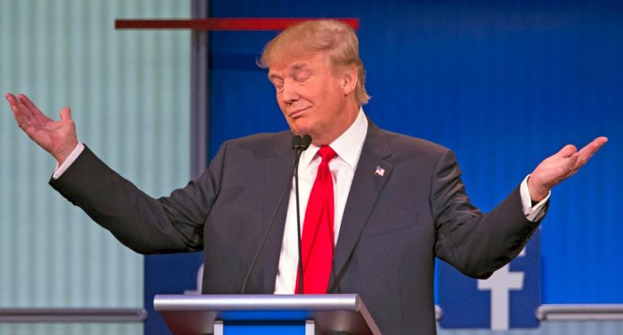 「donald trump shrug」的圖片搜尋結果