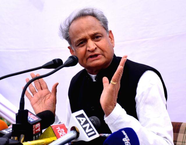 Ashok Gehlot's press conference